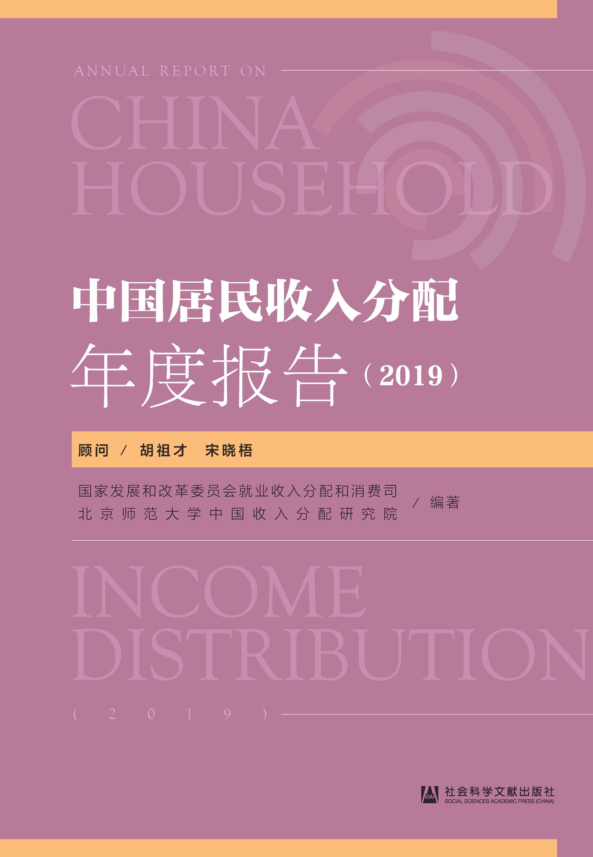 中国居民收入分配年度报告(2019)