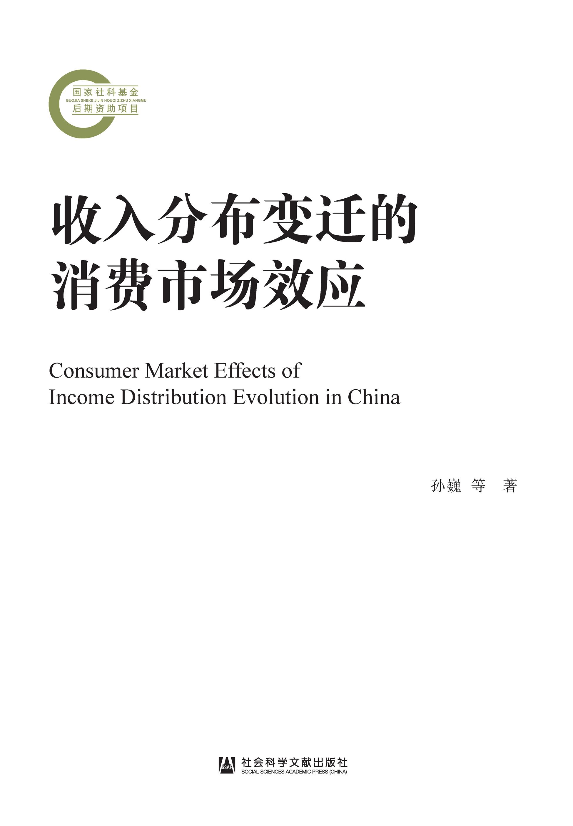 收入分布变迁的消费市场效应